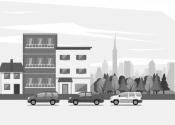 Aluga ampla casa comercial mobiliada- 100m²- 5 vagas garagem - central