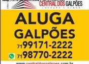Barracão / Galpão / Depósito na Estrada Do Coco, 222, Estrada do Coco, Lauro de Freitas por R$5.000,00