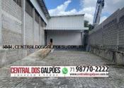 Barracão / Galpão / Depósito no Porto Seco Pirajá, Salvador por R$13.500,00