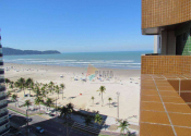 Apartamento na Vila Guilhermina, Praia Grande por R$2.200,00
