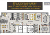 Sala comercial na Avenida Brigadeiro Luís Antônio, Jardim Paulista, São Paulo por R$16.000,00
