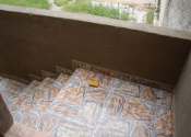 Casa 3 em alvenaria fundos c/ 3 quartos sala/cozinha