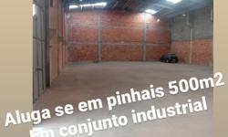 Barracão / Galpão / Depósito com 4 salas para alugar, 500m²