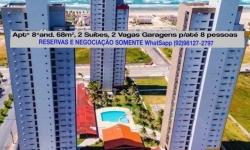 Apartamento com 2 quartos para alugar, 68m²