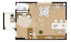 Sala comercial para alugar, 43m²