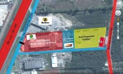 Terreno comercial para alugar, 9.450m²