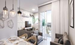 Apartamento com 3 quartos à venda, 56m²