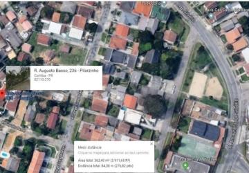 Pilarzinho, Terreno à venda, 386 m2