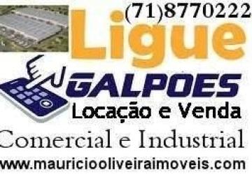 Depósito para Venda em Lauro de Freitas, Estrada do Coco