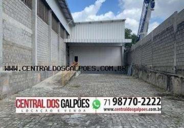 Porto Seco Pirajá, Barracão / Galpão / Depósito para alugar, 930 m2