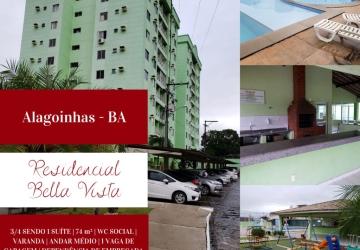 Centro, Apartamento com 3 quartos para alugar, 74 m2