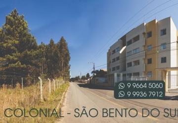 VENDE-SE APTO. Excelente Localização e Vista! COLONIAL, São Bento do Sul - ÚLTIMO ANDAR