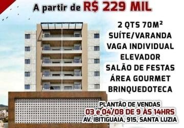 Santa Luzia, Apartamento à venda, 70 m2