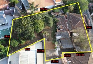 Orfãs, Terreno à venda, 779 m2