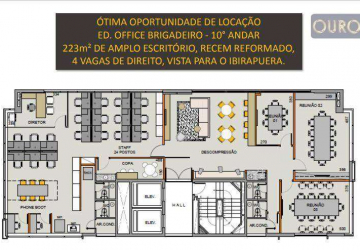 Jardim Paulista, Sala comercial para alugar, 223 m2