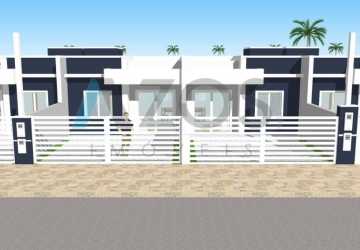 Balneário Primavera, Casa com 2 quartos à venda, 49 m2