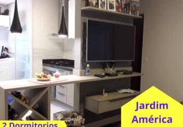 Jardim América, Apartamento com 2 quartos à venda, 45 m2