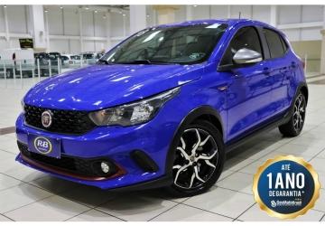 FIAT ARGO 1.8 HGT 16V, Florianópolis - SC, 2018, AZUL, Flex, Automático