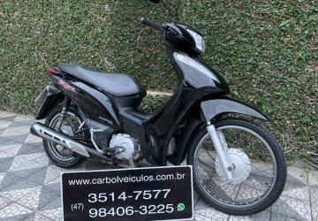 HONDA BIZ 125 ES, Itajaí - SC, 2016, PRETO, Gasolina