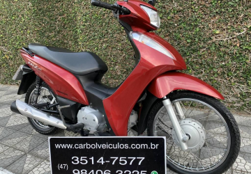 HONDA BIZ 125 ES, Itajaí - SC, 2015, VERMELHO, Flex
