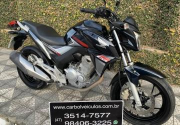 HONDA CB 250 TWISTER, Itajaí - SC, 2018, AZUL, Flex