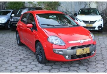 FIAT PUNTO 1.8 SPORTING 8V 4P, Florianópolis - SC, 2013, VERMELHO, Flex, Automático