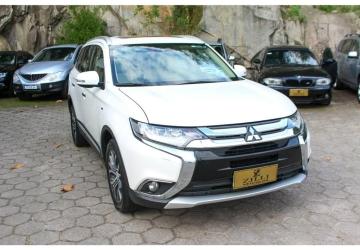 MITSUBISHI OUTLANDER 3.0 GT 4X4 V6 24V 4P, Florianópolis - SC, 2017, BRANCO, Gasolina, Automático