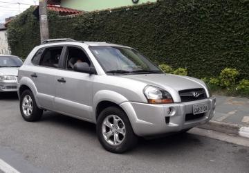 HYUNDAI TUCSON 2.0 16V 4P, Guarulhos - SP, 2010, PRATA, Gasolina, Automático