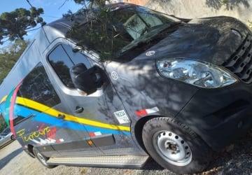 RENAULT MASTER 2.3 DCI EXECUTIVE LONGO 16 LUGARES, Curitiba - PR, 2016, CINZA, Diesel, Mecânico