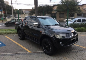 MITSUBISHI L200 TRITON 3.2 HPE 4X4 CD 16V TURBO INTERCOOLER 4P, Curitiba - PR, 2010, PRETO, Diesel, Automático