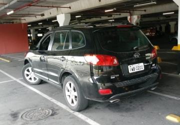 HYUNDAI SANTA FÉ 2.7 MPFI V6 24V 200CV 4P, Curitiba - PR, 2009, PRETO, Gasolina, Automático