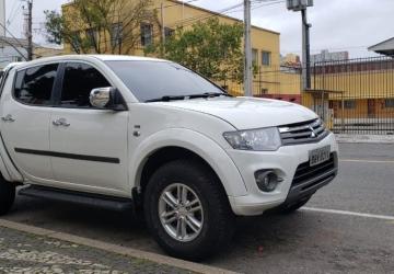 MITSUBISHI L200 TRITON 3.5 HPE 4X4 CD V6 24V 4P, Curitiba - PR, 2015, BRANCO, Flex, Automático