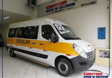 RENAULT MASTER 2.3 DCI EXTRA F. VITRÉ 16V, São Paulo - SP, 2020, BRANCO, Diesel, Mecânico