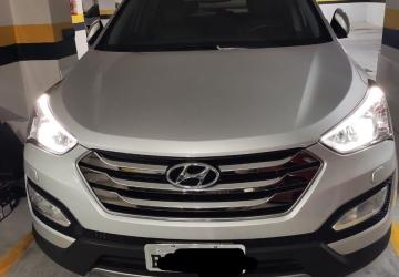 HYUNDAI SANTA FÉ 3.3 MPFI 4X4 7 LUGARES V6 270CV 4P, Curitiba - PR, 2016, PRATA, Gasolina, Automático