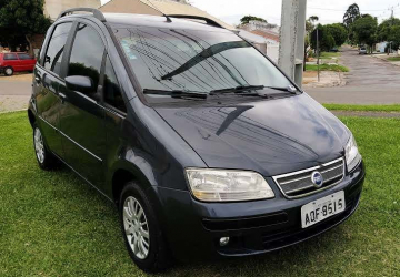 FIAT IDEA 1.4 MPI ELX 8V 4P, Curitiba - PR, 2007, CHUMBO, Flex, Mecânico