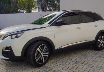 PEUGEOT 3008 1.6 GRIFFE PACK TURBO 16V 4P, Curitiba - PR, 2019, BRANCO PÉROLA, Gasolina, Automático