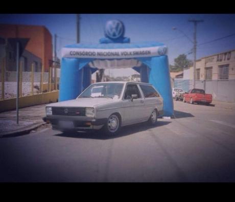 VOLKSWAGEN PARATI 1.8 CL 8V 2P - 1985 em Curitiba - PR
