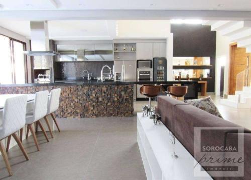 Casa em condomínio fechado com 4 quartos para alugar