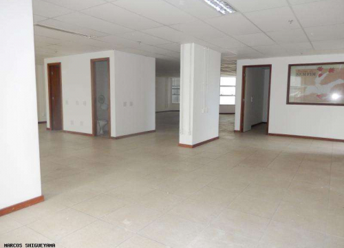 Sala comercial com 6 salas para alugar